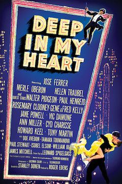 Deep in My Heart movie poster.