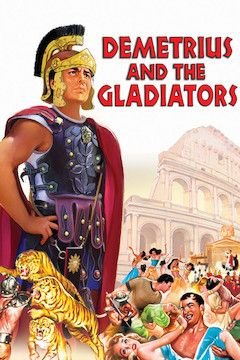 Demetrius and the Gladiators movie poster.