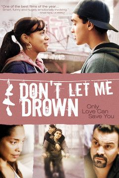 Don't Let Me Drown movie poster.
