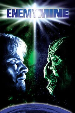 Enemy Mine movie poster.