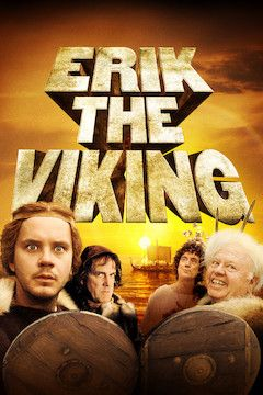 Erik the Viking movie poster.