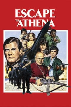 Escape to Athena movie poster.