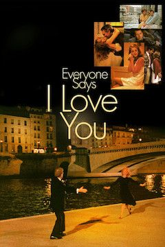 Everyone Says I Love You movie poster.