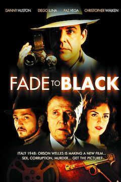 Fade to Black movie poster.
