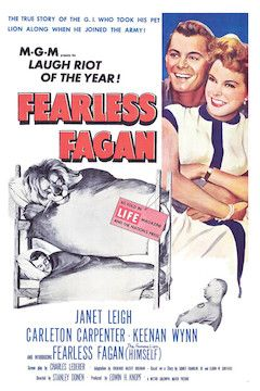 Poster for the movie Fearless Fagan