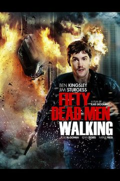 Fifty Dead Men Walking movie poster.