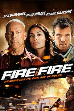Fire With Fire movie poster.