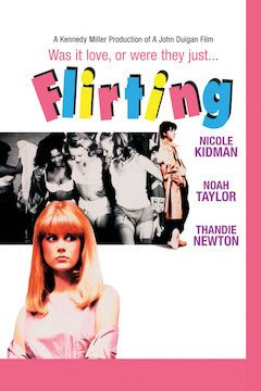 Flirting movie poster.