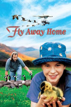 Fly Away Home movie poster.