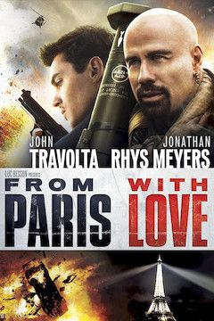 From Paris With Love movie poster.