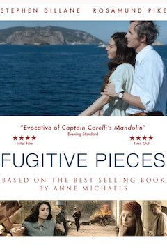 Fugitive Pieces movie poster.