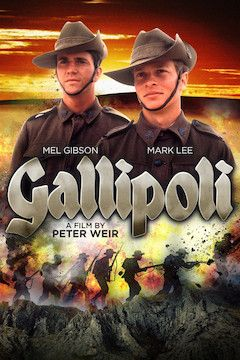Gallipoli movie poster.