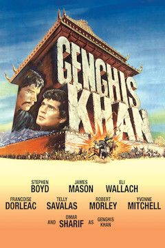 Genghis Khan movie poster.
