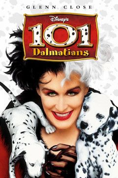 Poster for the movie 101 Dalmatians
