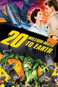 20 Million Miles to Earth movie poster.
