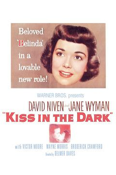 A Kiss in the Dark movie poster.