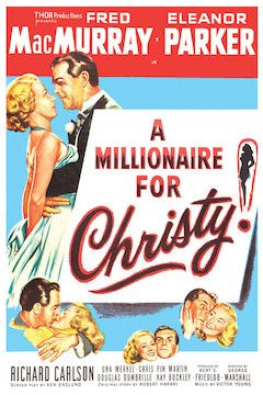 A Millionaire for Christy movie poster.