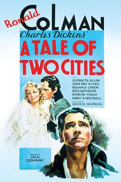 A Tale of Two Cities movie poster.