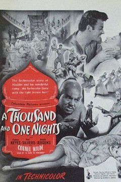 A Thousand and One Nights movie poster.