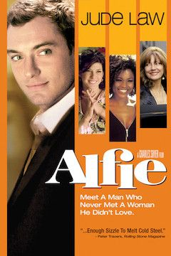 Alfie movie poster.