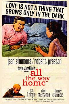 All the Way Home movie poster.