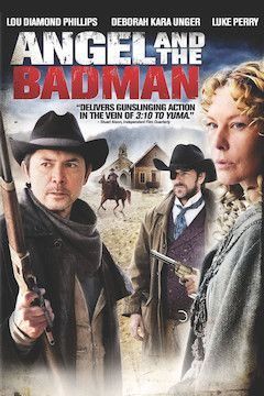 Angel and the Badman movie poster.