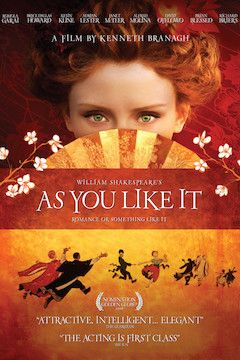 As You Like It movie poster.