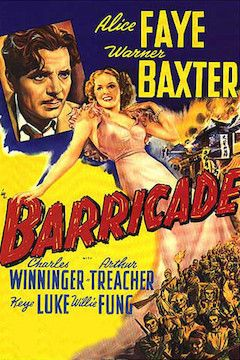 Barricade movie poster.