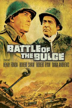 Battle of the Bulge movie poster.