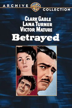 Betrayed movie poster.