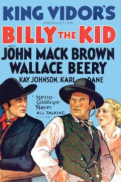 Poster for the movie Billy the Kid
