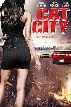 Cat City movie poster.