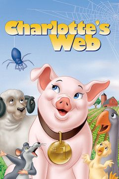 Charlotte's Web movie poster.