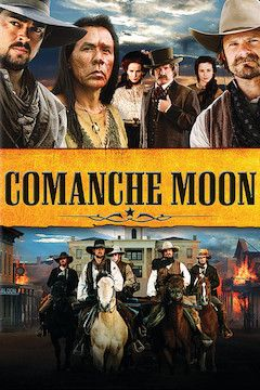 Comanche Moon movie poster.