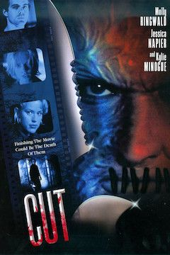 Cut movie poster.