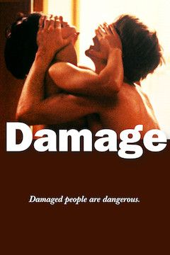 Damage movie poster.