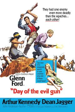 Day of the Evil Gun movie poster.