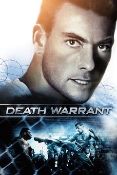 Death Warrant movie poster.