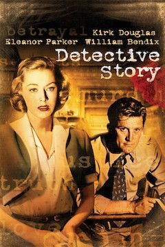 Detective Story movie poster.