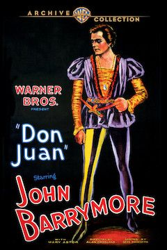Don Juan movie poster.