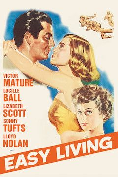 Easy Living movie poster.