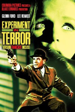Experiment in Terror movie poster.