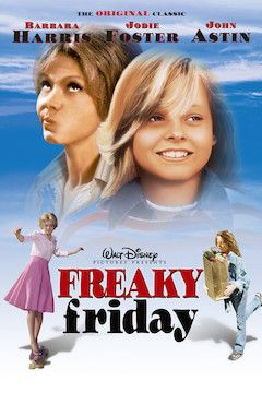 Freaky Friday movie poster.