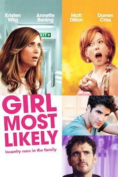 Girl Most Likely movie poster.