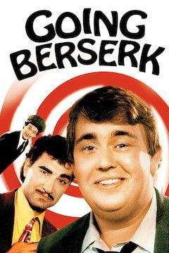 Going Berserk movie poster.