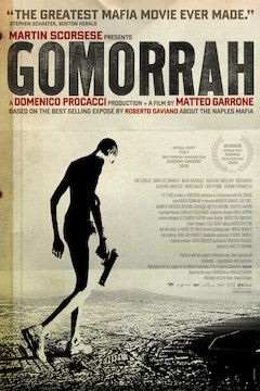 Gomorra movie poster.