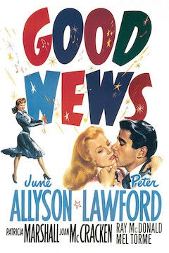 Poster for the movie Good News