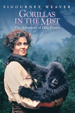 Gorillas in the Mist movie poster.