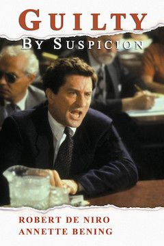 Guilty by Suspicion movie poster.