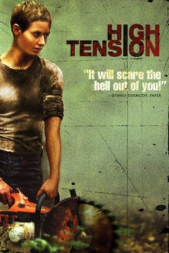 High Tension movie poster.